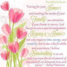 Homemaking is an art! What does it mean to create a Biblical home as a Godly Homemaker?