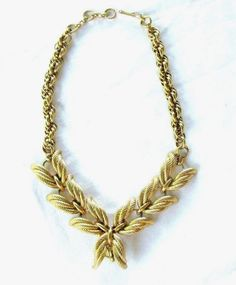 Vintage Signed Schiaparelli Necklace Excellent Quality Stunning
