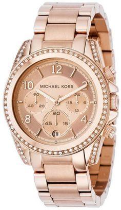 Michael Kors Rose Gold Runway Chronograph MK5263 Watch