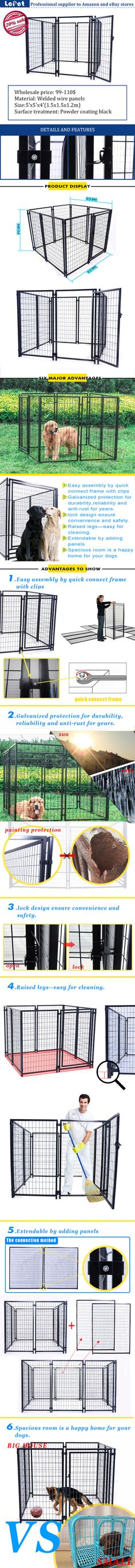 wholesale welded wire panel lows dog kennel and runs  manufacturer/manufacturers/suppliers/wholesale/buy/factory