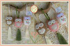 www.facebook.com/szilvilag   egyedi kézzel varrt gyapjúfilc bagolyfüggő, lakásdísz,   felt owl jewel, apartment decor