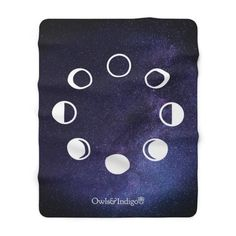 Get the entire Winter 2020 Collection in the Owls & Indigo Store. Unbelievably fluffy and warm – this high quality cozy queen sized Purple Galaxy Stars Moon Phase sherpa fleece blanket is impossible to leave behind, wherever one might go. The perfect size for snuggling on the couch, by the fireplace or outside while you're journaling. Check out our Camping Style Enamel Mug and Moon Phase Magic Color Changing Mug too! Perfect for curling up with your journal. #boho #giftideasforher #bohogift Camping Style, Star Gift, Modern Bohemian, Moon Phases, Curling, Stars And Moon, Owls, Journaling, Indigo