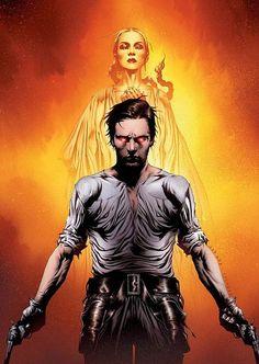 The Dark Tower - Jae Lee Art - Roland Deschain & Susan Delgado