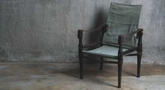 Originally designed to be used by British Army Officers in India as a chair that was light in weight, could be folded up, carried around easily and loaded onto a pack horse. British Army, Folded Up, Canvas Leather, Safari, India, Horses, Boutique, Chair, Gallery