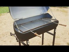 Comment fabriquer un barbecue avec un chauffe eau / How to make a  barbecue with water heater - YouTube