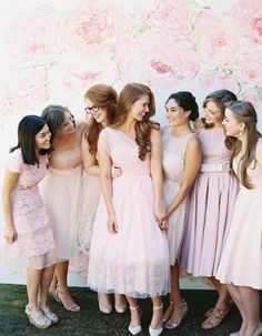 Pink-on-pink everything! Photography: Mariel Hannah - www.marielhannahphoto.com   Read More on SMP: http://www.stylemepretty.com/2016/12/05/pink-girly-bridal-shower/