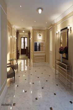 Luxury Art Deco foyer - Manhattan