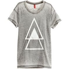 H&M T-shirt with a burnout pattern