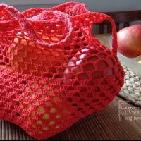 Straw Bag, Lunch Box, Tote Bag, Knitting, Pattern, Diy, Crocheting, Crochet Bags, Zero Waste