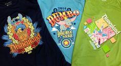 2014 Official Shirt Designs | Disneyland Half Marathon Weekend | Running At Disney #runDisney #DisneylandHalf #DumboDoubleDare #Disneyland10K