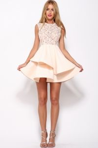 Romance Dress Peach