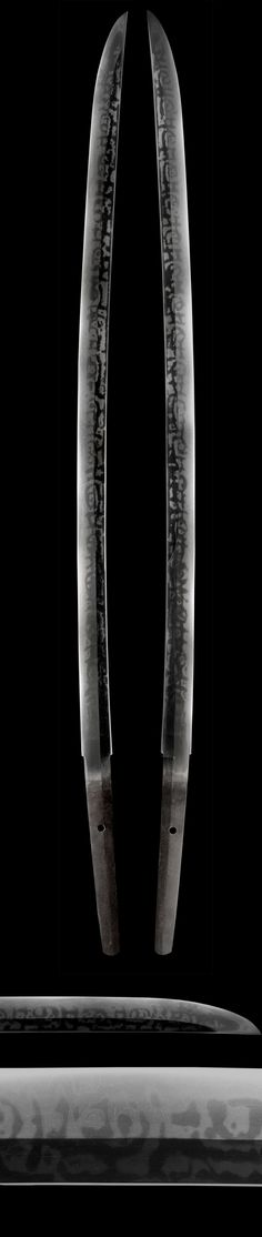 I's not my taste but definitely a piece of art. A Hitatsura hamon is basically a full tempered blade with spots of tobiyaki (hardening spots in the body of the blade and or along the spine). Posted 2 tanto examples with a hitatsura hamon back in March.