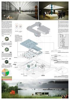Competition Asks Young Architects to Transform Abandoned Factory into Cultural Center,Mention: collective east (Tudor Costachescu, Mihaela Radescu, Horia Tasca, Alexandre Motora). Image Courtesy of Young Architects Competitions