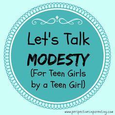lets talk modesty