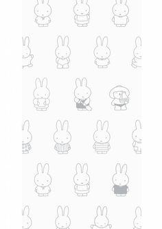 Beige Wallpaper, Iphone Background Wallpaper, Kids Wallpaper, Pattern Wallpaper, Melody Hello Kitty, Miffy, Instagram Logo, Backrounds, Burke Decor