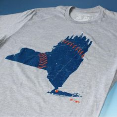 NY State Mets t-shirt. NY Mets t-shirt from The 7 Line. A die hard fan brand from New York offering t-shirts, group outings and more. MLB licensed.