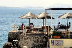Mitsos Taverna on Nissaki Beach, Corfu