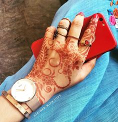 Hijabi Girl, Hijab Chic, Girls Dp, Muslim Girls, Mehndi Designs, Stylish Girl, Girly, Profile, Hands