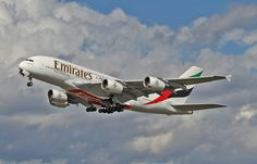 A6-EDK EMIRATES A380 Emirates Airbus, Emirates Airline, Airbus A380, Boeing 747, Airplane Photography, Jet Plane, Private Jet, Airplanes, Aviation