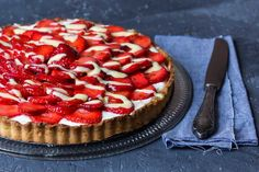 Erdbeer Tarte via lunchforone (Strawberry Tarte)
