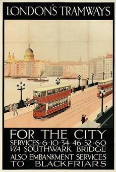 LONDON'S TRAMWAYS FOR THE CITY