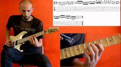 Symmetrical exercises for guitar n.4 - Daniel Nodari