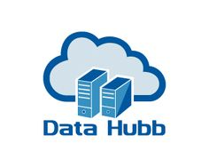 Data Hubb Logo design - This design is of a cloud storage, data storage in different and attractive style, it is simple and professional, used blue color theme to make it attractive. It can be use full for technology related services and business.  Price $250.00