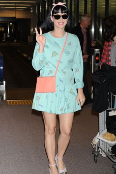 Katy Perry Red Carpet Style - Katy Perry's Best Looks Katy Perry Birthday, Simple Outfits, Cool Outfits, Fashion Photo, Fashion Looks, Katy Perry Hot, Birthday Fashion, Moda Fashion, Celebrity Look