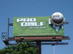 #Golf #OOH #Sports Advertisement Examples, Advertising, Outdoor Signs, Billboard, Golf, Sports, Hs Sports, Signage, Sport