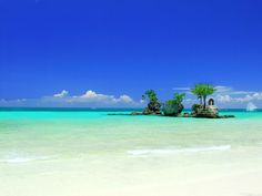 Boracay Island  White Sand and  Willy's Rock, Philippines ✯ ωнιмѕу ѕαη∂у