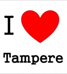 I love Tampere tiskirätti