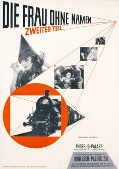Jan Tschichold Die Frau ohne Namen (The Woman Without a Name) (Film poster for the Phoebus-Palast cinema, Munich) 1927