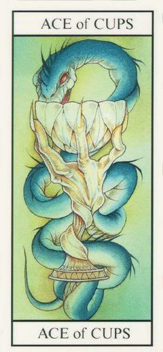 Ace of Cups Miracle Tarot