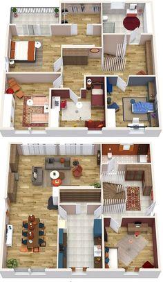 Plans 3D,Sketch,projects #Farisdecor #Plans_3D #Decorateur #3D #Plans #projects #Decoration #Sketch #Amenagement #Design #Immobilier #Local #Morocco