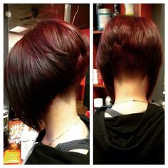 Best Bob Hairstyles & Haircuts for Women - Hairstyles Trends Hairstyles For Fat Faces, Stacked Bob Hairstyles, Short Haircuts, Short Hair Cuts For Women, Long Hair Cuts, Inverted Bob Cuts, Cabelo Ombre Hair, Easy Hair Cuts, Shaved Nape