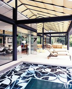 The best cure for winter blues? An ultrachic indoor pool–browse our favorites now
