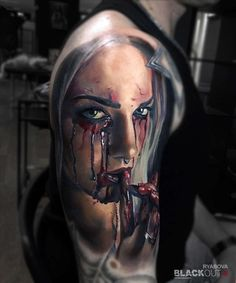 Work by BLACKOUT tattoo collective Валентина Рябова, BLACKOUT tattoo collective