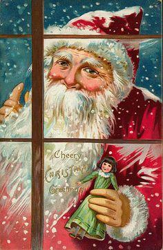 Christmas...luv vintage cards