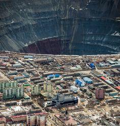 Так добывают алмазы. Город Мирный, Якутия — Фото дня, 2 апреля 2015