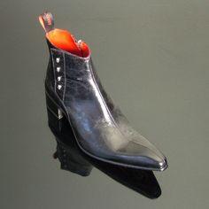 Rochester - 'Terence' Skull Spat Boot
