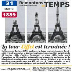 [CIVILISATION] La tour Eiffel, #Paris, #France