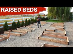 Setting up Raised Beds // Garden Answer - YouTube