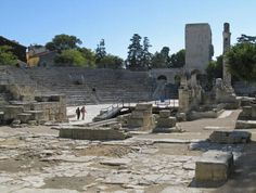 Ancient Roman Theatre in Arles France
