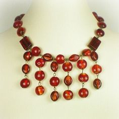 Anne Boylen Ruby Stone Neckless