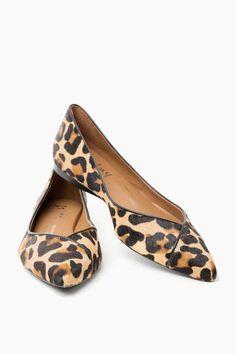 Leopard Peppy Flats