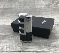 Triple Jet Flame Butane Cigarette Torch Lighter with Cigar Punch Cutter Cool Lighters, Cigar Lighters, Beard Oil Kit, Essential Oil Set, Torch Light, Oil Burners, Boyfriend Gifts, Gifts For Dad, Usb Flash Drive
