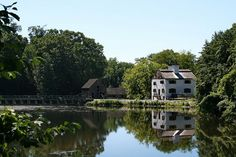 Philipsburg Manor and mill in the #Hudson Valley, New York.