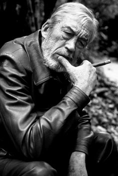 Ravageurs smoke cigars. | John Huston by Brian Hamill