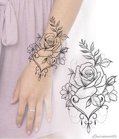 Flower Rose Tattoo Design Available Dotwork Tattoo Mandala, Tattoo Henna, Mandala Tattoo Design, Flower Tattoo Designs, Mandala Tattoo Sleeve Women, Flower Tattoo Stencils, Geometric Rose Tattoo, Floral Mandala Tattoo, Mandala Rose