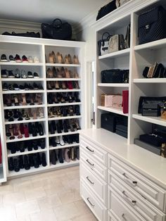 Dorit Kemsley's Walk-In Closet Is Heaven for Shoe Lovers
